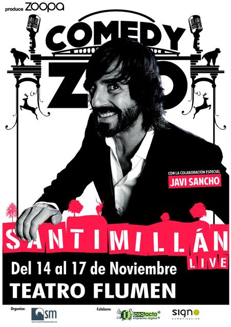 Santi Millán Live – Teatro Flumen (Valencia)