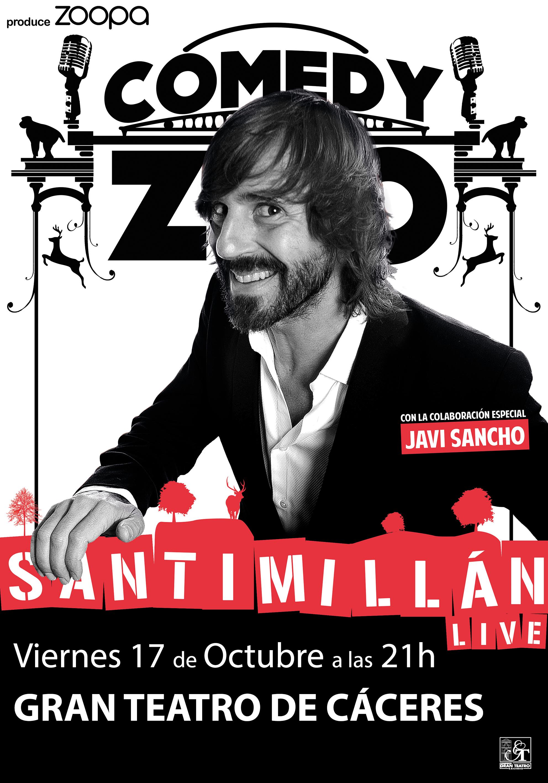 Santi Millán Live – Cáceres