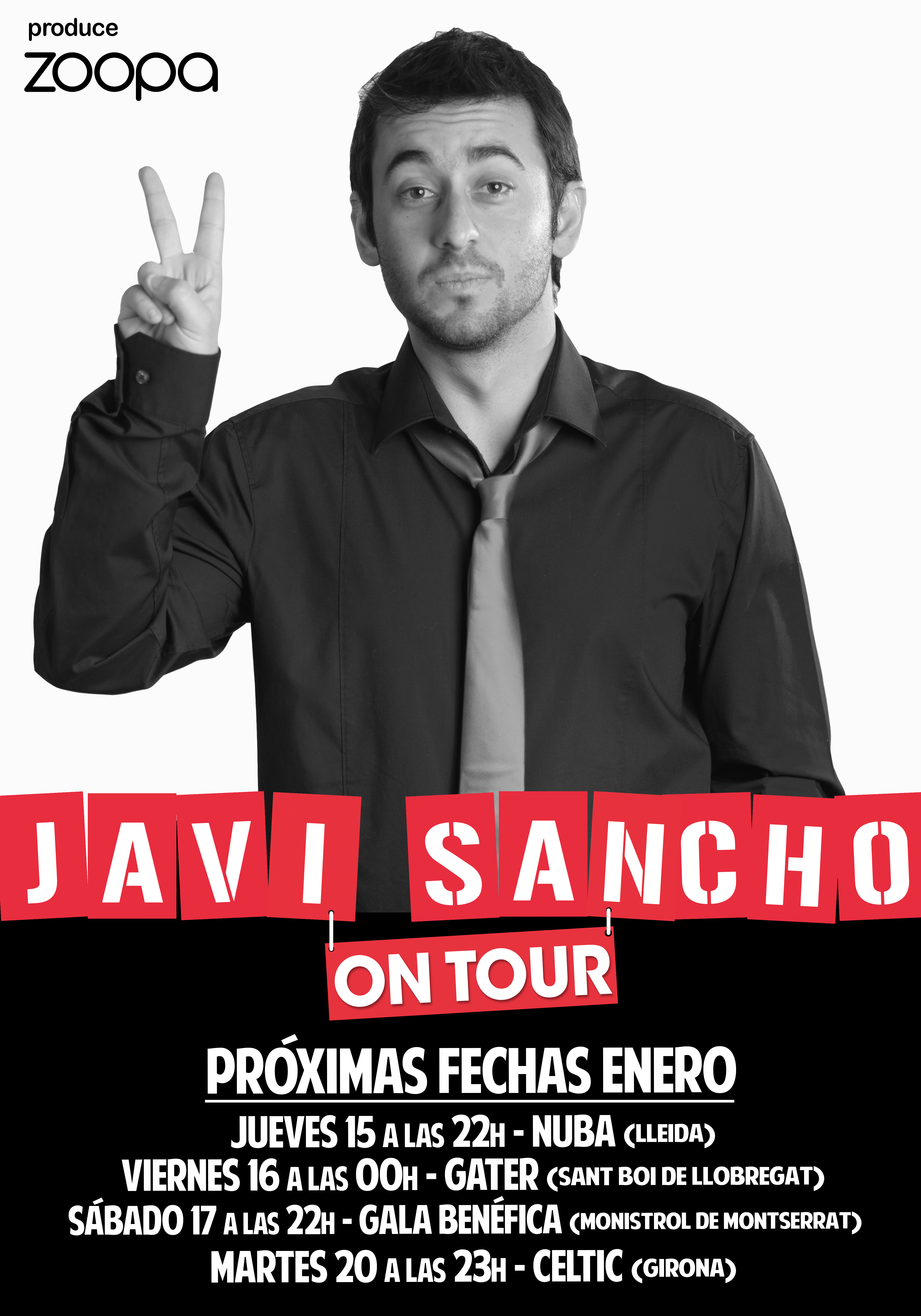JAVI SANCHO ON TOUR (ENERO)